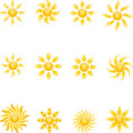 Sun, Sun Collection, 3D, Logo Royalty Free Stock Images - 76882399