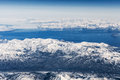 Aerial View Over Ice Mountains In Greenland Stock Images - 76886364