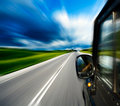 Blurred Road Stock Photos - 7697683