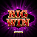 Big Win Casino Banner Royalty Free Stock Images - 76904719