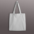 White Blank Cotton Eco Tote Bag, Design Mockup. Royalty Free Stock Photo - 76940385