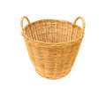 Wicker Baskets On White Background Stock Image - 76955841