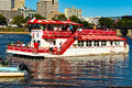 Harrisburg Riverboat Returning To Dock Royalty Free Stock Photography - 77041417