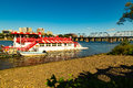 Harrisburg Riverboat Leaving Dock Royalty Free Stock Photo - 77044265