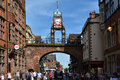 Eastgate Clock Chester Stock Image - 77070771