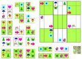 Logic Sudoku Game - Need To Complete The Puzzle Using The Remaining Details. Stock Images - 77073974