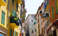 FRANCE. Old Town Architecture Of Nice On French Riviera Royalty Free Stock Photo - 77082765