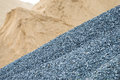 Gravel And Sand Stock Photography - 77089682