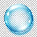 Transparent Light Blue Sphere Stock Photography - 77098702