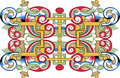 Vector Fragment Of Orthodox Ornamental Pattern Royalty Free Stock Photos - 7712758