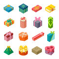 Isometric Gift Box Vector Icon Isolated Stock Photography - 77101742