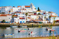 Scenic View Of Fishing Boats In Ferragudo, Portugal Stock Photo - 77108080