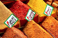 Spices On Spice Market Stock Image - 7720591