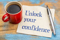 Unlock Your Confidence Advice Stock Photography - 77208612