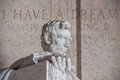 I Have A Dream Writing At Lincoln Memorial Royalty Free Stock Photo - 77255005