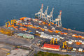 Industrial Aerial View Royalty Free Stock Photos - 77262538
