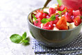Watermelon Salad. Royalty Free Stock Images - 77310179