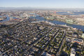 Aerial View Of San Pedro California And Los Angeles Harbor Stock Photography - 77310452