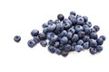 Bunch Of Ripe Blueberries Isolated Macro Shot Stock Images - 77349094