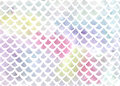 Watercolor Fish Scale Pattern In Blue And Pink Stock Photos - 77351863