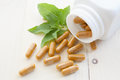 Herb Capsules Royalty Free Stock Image - 77380656