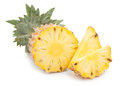 Pineapple With Slices  Stock Image - 77381601