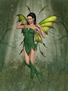 Fairy 3d Computer Graphic Royalty Free Stock Photography - 77382537