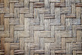 Woven Flat Mat Old Made From Bamboo Grass Background Royalty Free Stock Photos - 77387578
