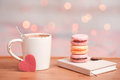 Coffee With Cookies Stock Photography - 77393212