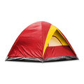 Red Dome Tent Royalty Free Stock Images - 77397049