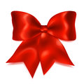Big Red Bow Royalty Free Stock Photography - 77467957