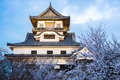 Inuyama Castle Historic Building Landmark In Spring With Beautif Stock Photos - 77474633