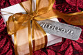 Gift With Love Royalty Free Stock Photos - 7757748