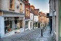 Cobbled Street Stock Image - 77564911