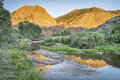 Eagle Nest Rock And Poudre RIver Stock Photo - 77572640