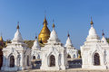 White Kuthodaw Pagoda Stock Image - 77573501