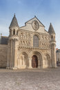 Exterior Of Notre Dame La Grande Church In Poitiers Royalty Free Stock Images - 77575939