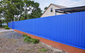 Blue Gate And Fence Stock Photography - 77582792