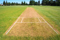Cricket Pitch Field Royalty Free Stock Photography - 77590767