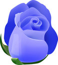 Blue Rose Royalty Free Stock Photography - 7761117