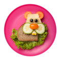 Hamster Made Of Bread And Vegetables Royalty Free Stock Photos - 77648218