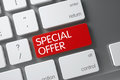 Special Offer Keypad. 3D. Stock Photography - 77659002