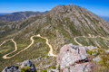 Swartberg Pass Road - Little Karoo, South Africa Royalty Free Stock Image - 77682486