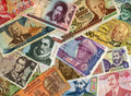Currencies From Around The World, Paper Banknotes. Stock Photos - 7770693