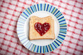 Toast With Jam Stock Images - 7777464