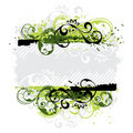 Green Floral Background Royalty Free Stock Image - 7778066