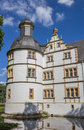 Corner Tower Of The Nauhaus Castle In Paderborn Royalty Free Stock Photo - 77704285