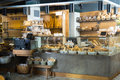Modern Bakery With Different Kinds Of Bread And Buns Royalty Free Stock Photo - 77706145
