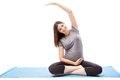 Pregnant Woman Working Out Royalty Free Stock Photos - 77771998