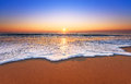 Majestic Ocean Sunset. Royalty Free Stock Photography - 77794717